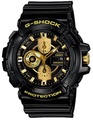 Casio G-Shock Special Color Model GAC-100BR-1ADR Watch (New With Tags)