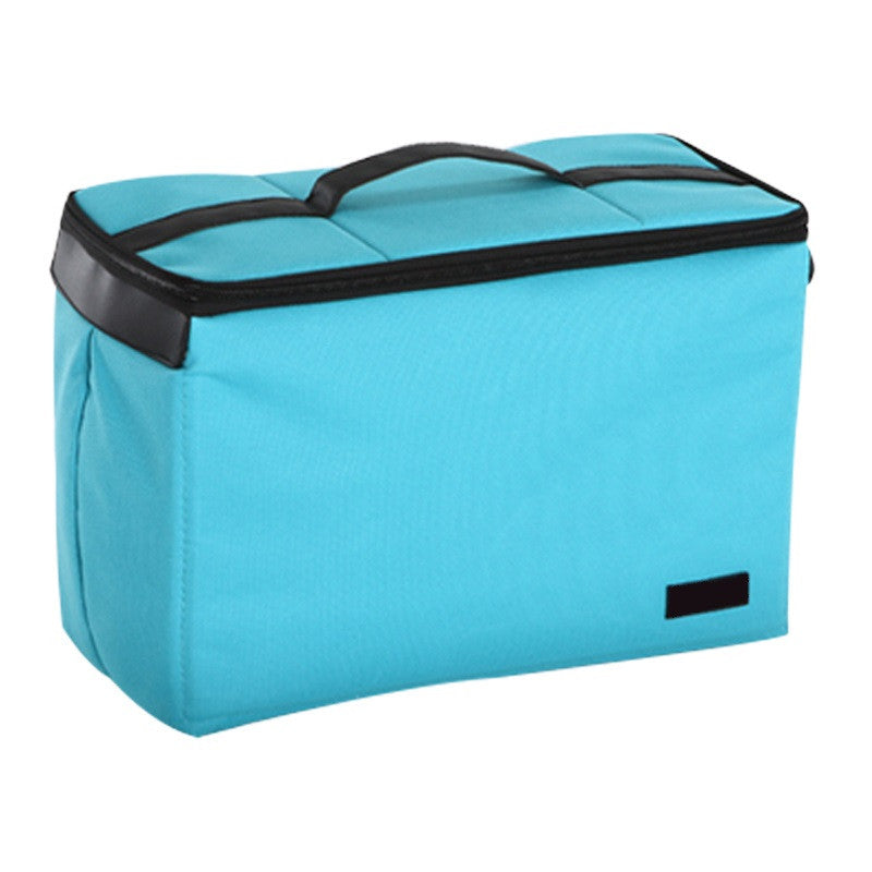 Waterproof Versatile Tank Medium Bag for Camera (Light Blue)