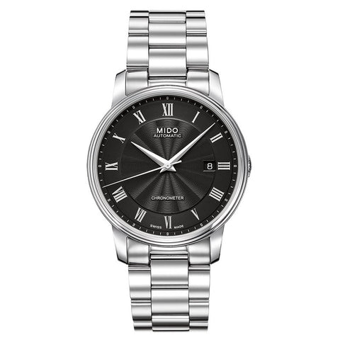 Mido Baroncelli III M0104081105300 Watch (New with Tags)