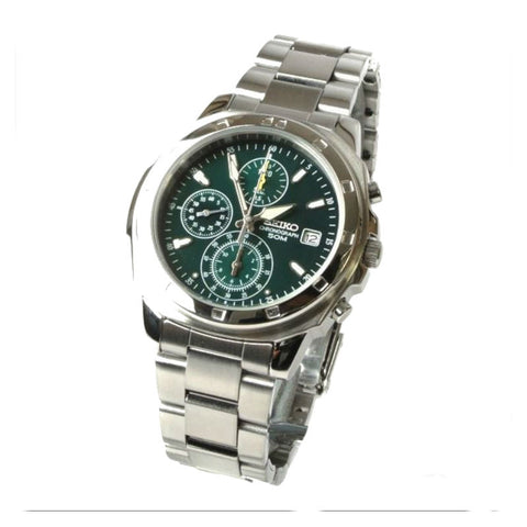 Seiko Chronograph SND411 Watch (New with Tags)