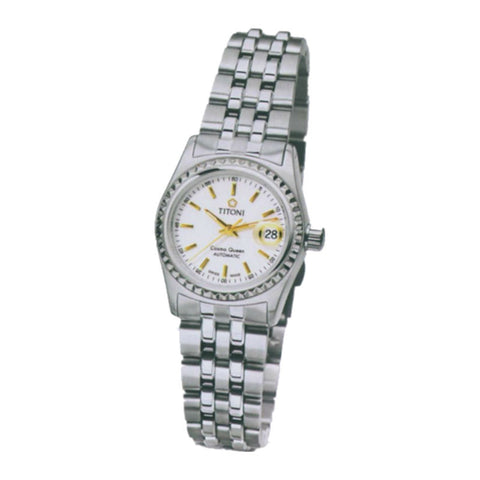 Titoni Cosmo Queen Series 728S310Y Watch (New with Tags)