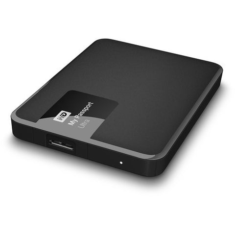 WD My Passport Ultra WDBBKD0030BBK-CESN 3TB External Hard Drive (Black)
