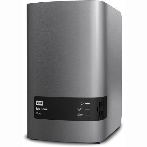 WD Elements My Book Duo 3.5 inches USB 3.0 6TB External Hard Drive WDBLWE0060JCH-SESN