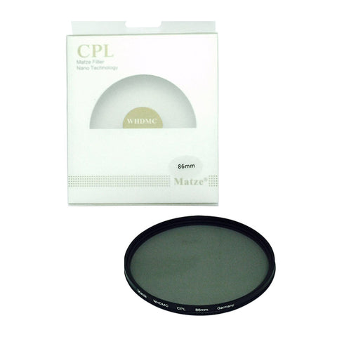 Matze 86mm WHD MC-CIR Polarizer Filter
