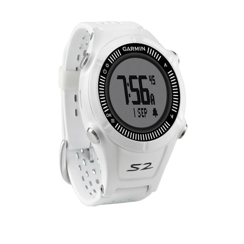 Garmin Approach S2 010-01139-00 Golf Watch (White/Grey)