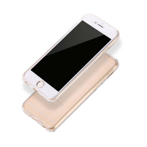 Ultra-thin Protective Soft Shell 360 Case 5.5 inches for iPhone 7 Plus (White)