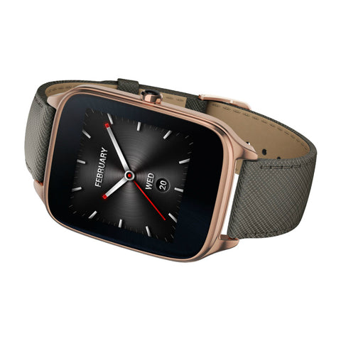 Asus WI501Q Zen Watch 2 Leather (Gold Grey)