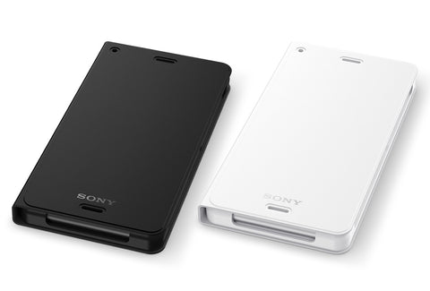 Sony Z3 WCR14 Wireless charging Cover and WCR10 Wireless charging Plate Set (White)