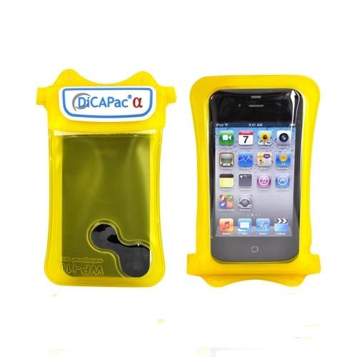 Dicapac WP-C10s Htc Mobile Case (Yellow)