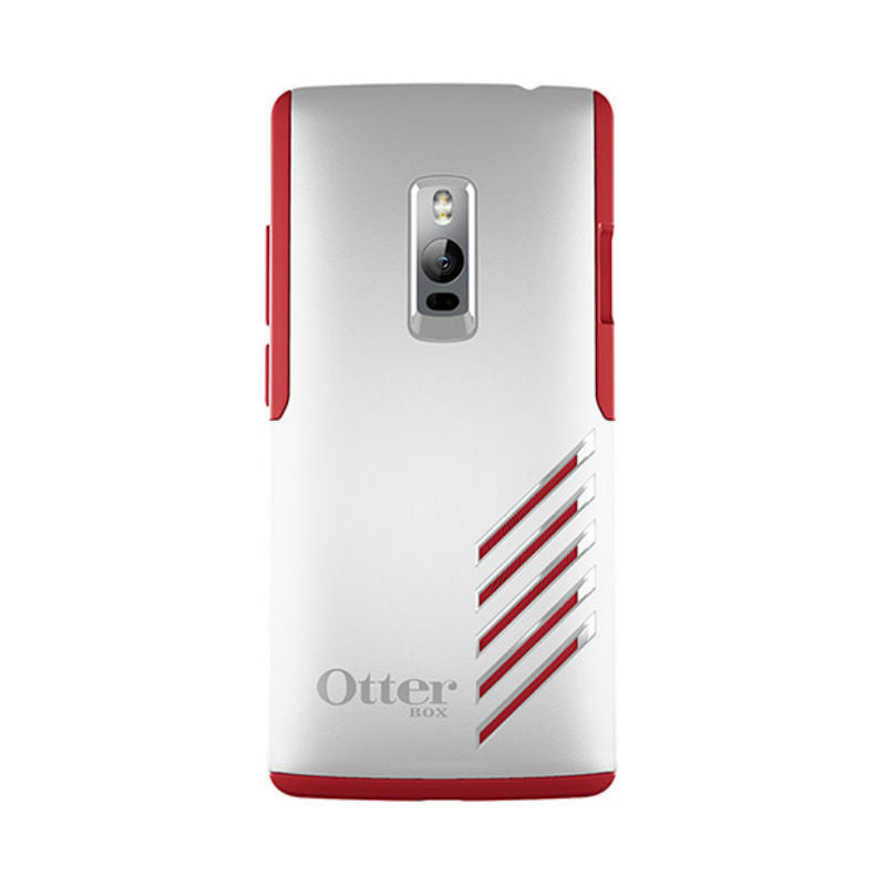 OtterBox Protective Shell Sleeve Case for One Plus 2 (White Red)