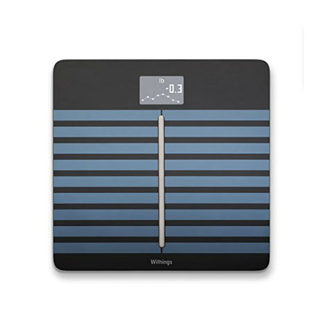 Withings Body Cardio Heart Health and Body Composition Wi-Fi Scale (Black)