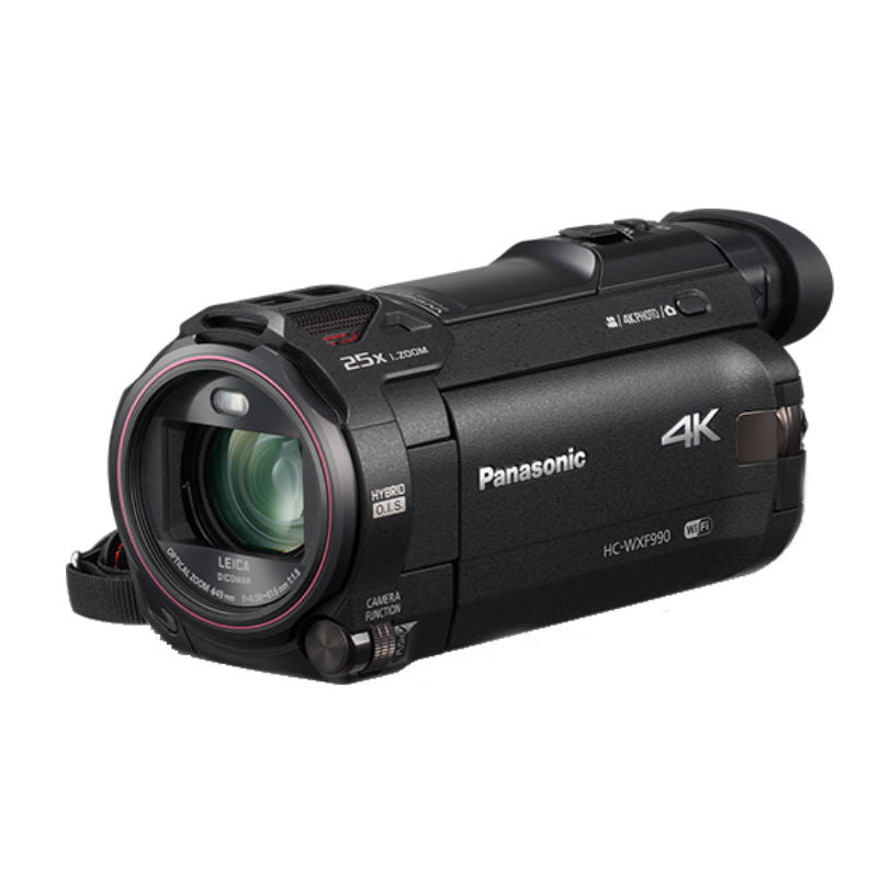 Panasonic HC-WXF990 Full HD Camcorder (Black)