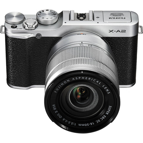 Fujifilm X-A2 with 16-50mm Silver Mirrorless Digital Camera