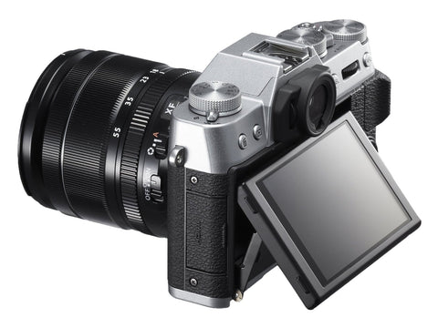 Fujifilm X-T10 Kit with 16-50mm Silver Mirrorless Digital Camera