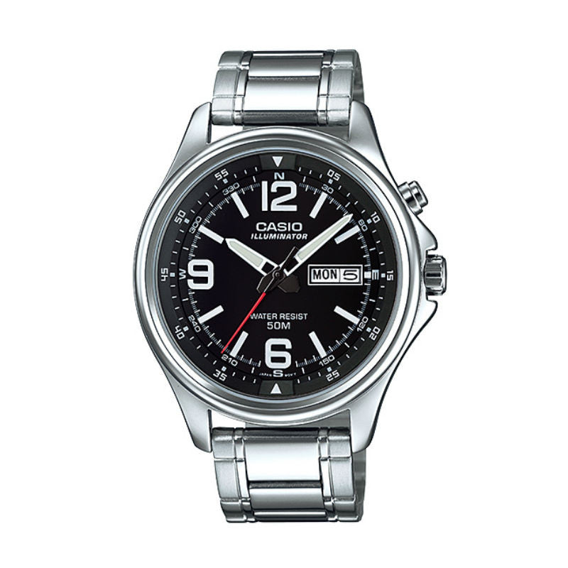 Casio Standard MTP-E201D-1B Watch (New with Tags)