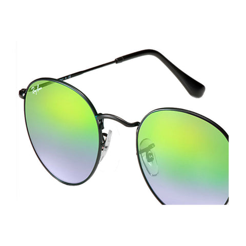 Ray-Ban RB3447 Round Flash (002/4J) (Size 50) Sunglasses