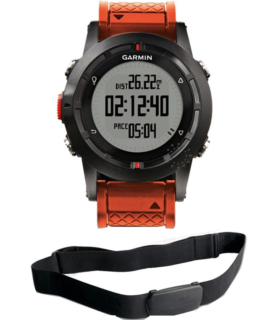 Garmin Fenix Performer GPS Watch 010-01040-11 Bundle