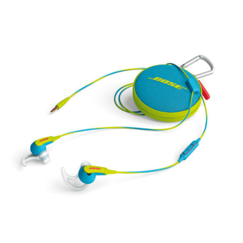 Bose Soundsport In-Ear Headphones for Apple Devices (Neon Blue)