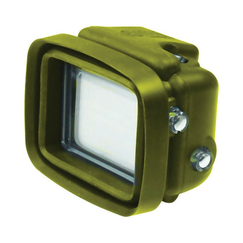 Big Balance MS1 GoPro Shade for GoPro Hero 4 Black / 3+ / 3 GoPro Shade Dive Housing with LCD BacPac (Green)