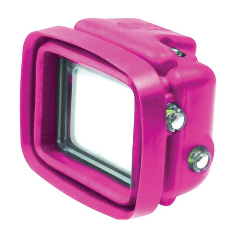Big Balance MS1 GoPro Shade for GoPro Hero 4 Black / 3+ / 3 GoPro Shade Dive Housing with LCD BacPac (Pink)