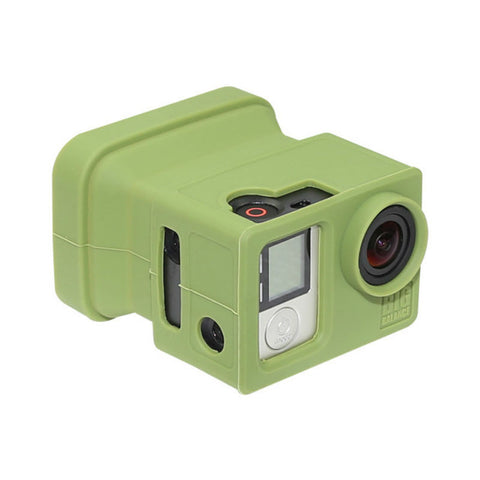 Big Balance MS5 GoPro Shade for Naked GoPro Hero 4 Black / 3+ / 3 GoPro Shade with LCD BacPac (Green)