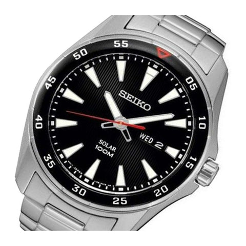 Seiko Solar SNE393 Watch (New with Tags)