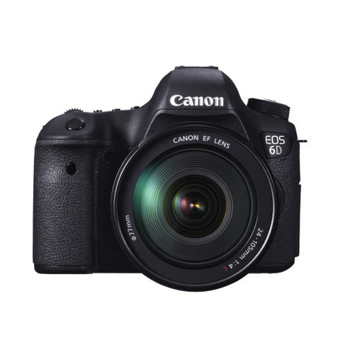 Canon EOS 6D Kit with 24-105mm f/3.5-5.6 STM Lens Black DSLR Camera