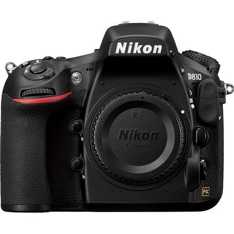 Nikon D810 Body Black Digital SLR Camera (kit box)
