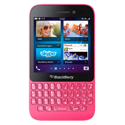 Blackberry Q5 8GB 4G LTE Pink Unlocked