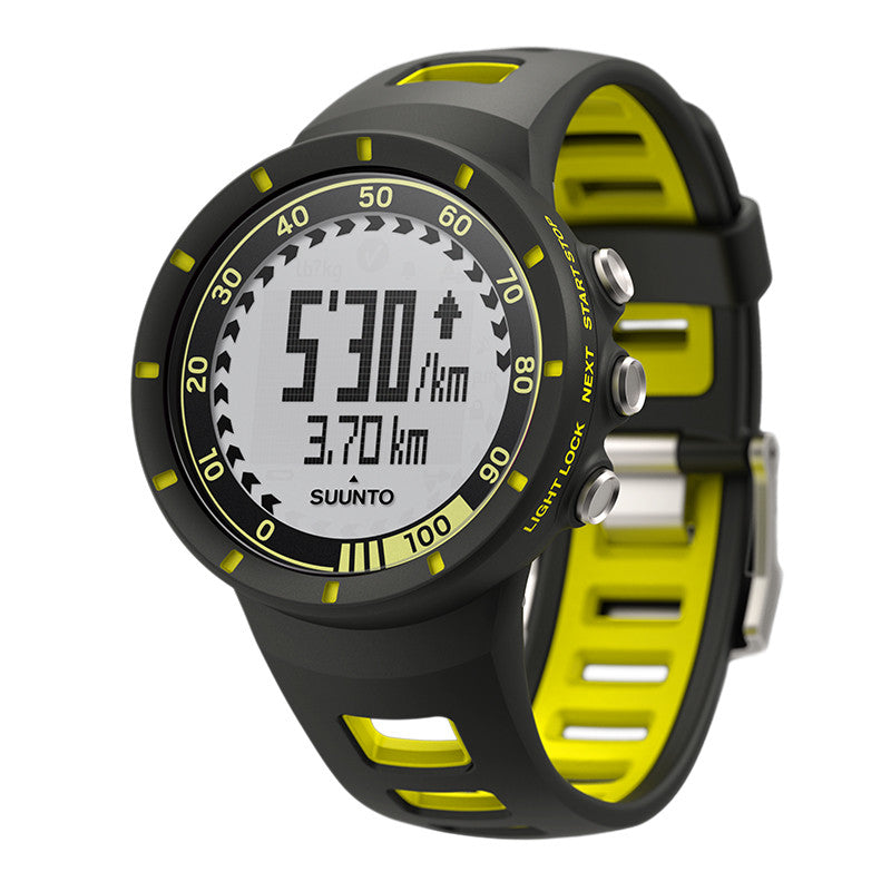 Suunto Quest SS019158000 Sports Watch Yellow (HR)