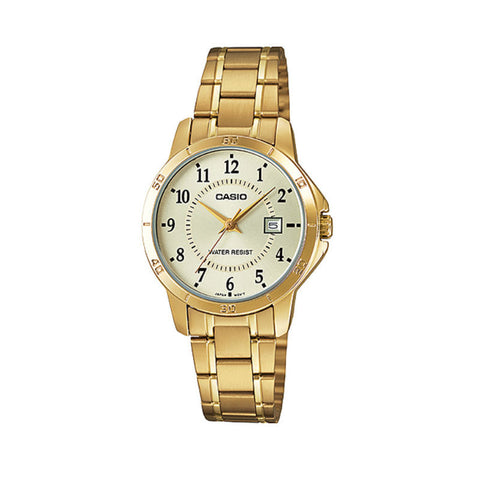 Casio Standard LTP-V004G-9B Watch (New with Tags)