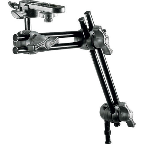 Manfrotto 396B-2 Double Arm 2 Section Bracket with Camera