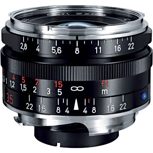 Carl Zeiss Biogon T* ZM 35mm f/2.8 for Leica M Black Lens
