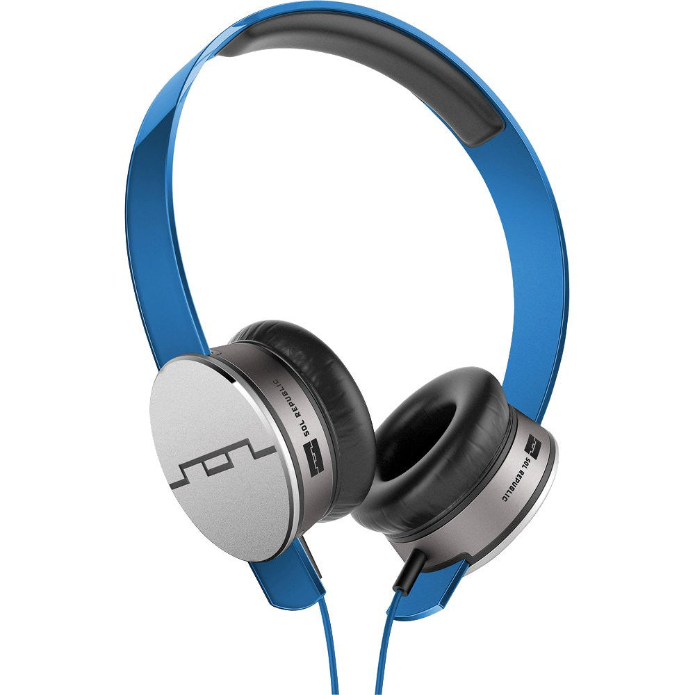 SOL Republic Tracks HD On-Ear Headphones (Blue)