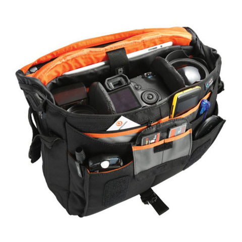 Vanguard Up-Rise II 33 Camera Messenger Bag (Black)