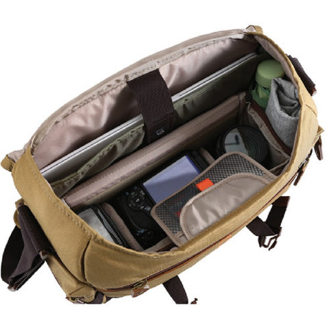 Vanguard Havana 33 DSLR Camera Messenger Bag Case (Brown)