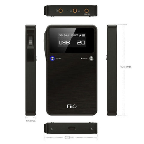FiiO Alpen 2 E17K Portable USB DAC and Headphone Amplifier