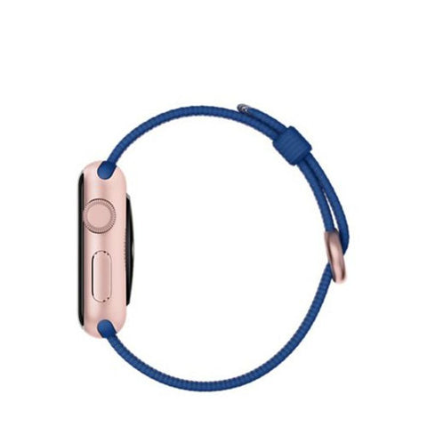 Apple Watch Sport 38mm Woven Nylon Band MMF42 (Royal Blue)