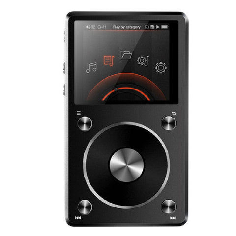 FiiO X5 2nd Gen Portable High-Resolution Audio Player (Black)
