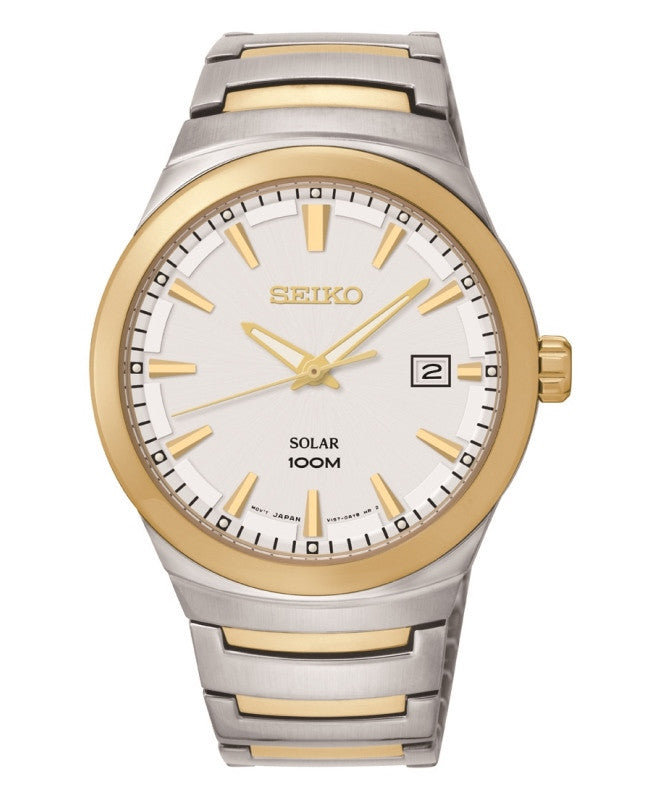 Seiko Solar Power SNE292 Watch (New with Tags)