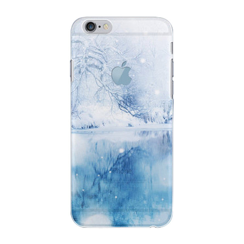 Hard Transparent Case 4.7 inch for iPhone 6/6S (Ice Cold)