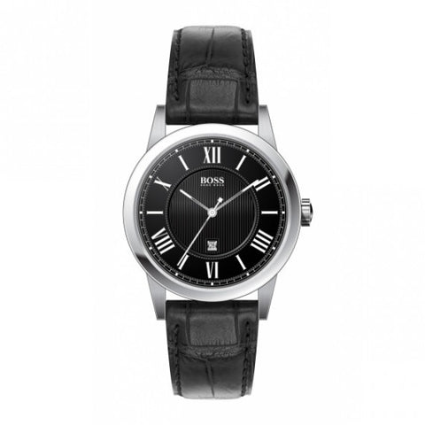 Hugo Boss Black Analog Quartz 1512429 Watch (New with Tags)