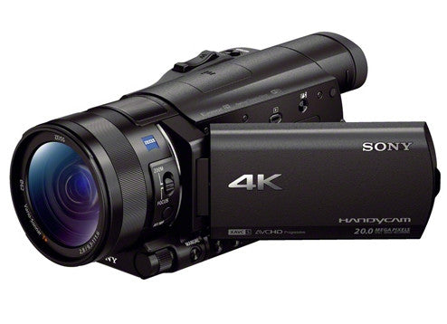 Sony FDR- AX100E Black (PAL) Digital 4K Video Camera and Camcorders