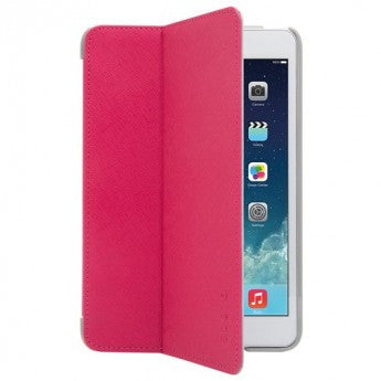 Odoyo Aircoat Folio Hard Case for iPad Mini 4 Cherry Red