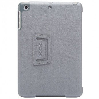 Odoyo Aircoat Folio Hard Case for iPad Mini 4 Planet Silver