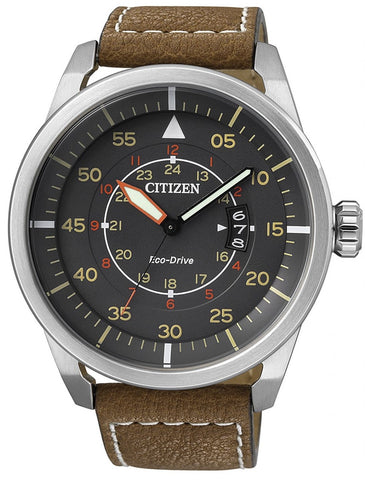 Citizen Eco-Drive Aviator AW1360-12H Watch (New with Tags)