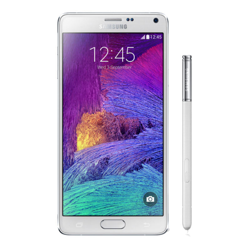 Samsung Galaxy Note 4 32GB 4G LTE Frost White (SM-N910C) Unlocked