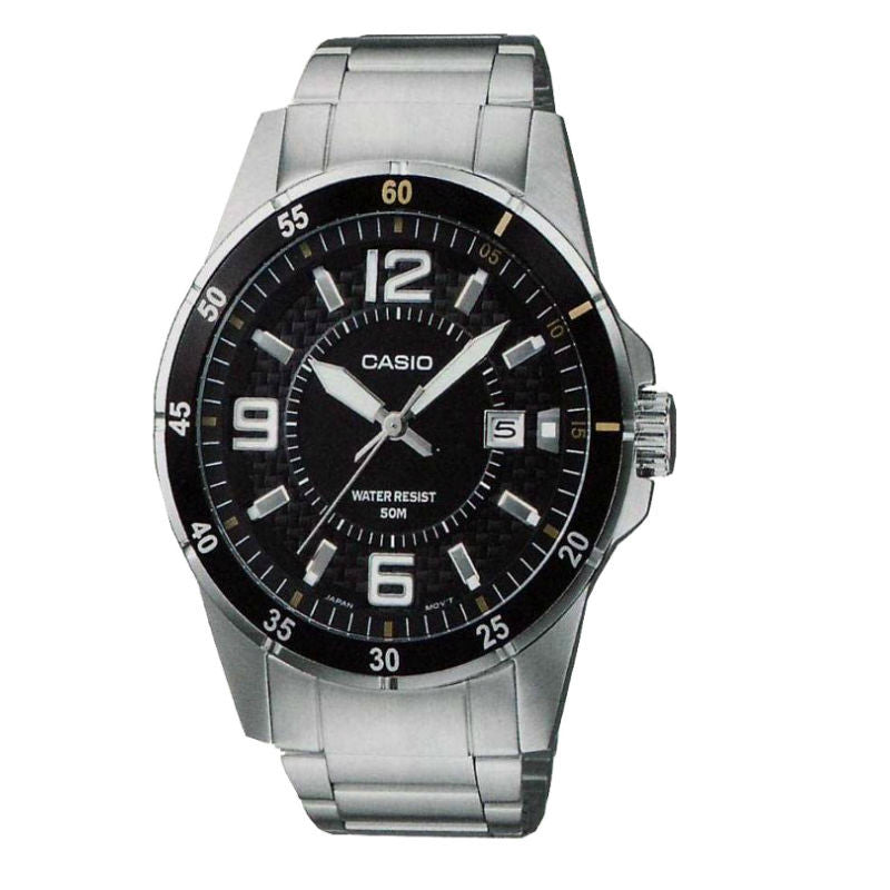Casio Enticer MTP-1291D-1A2 Watch (New with Tags)