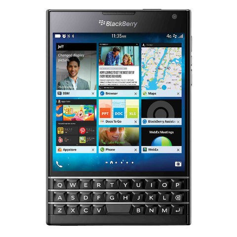 Blackberry Passport 32GB 4G LTE Black Unlocked