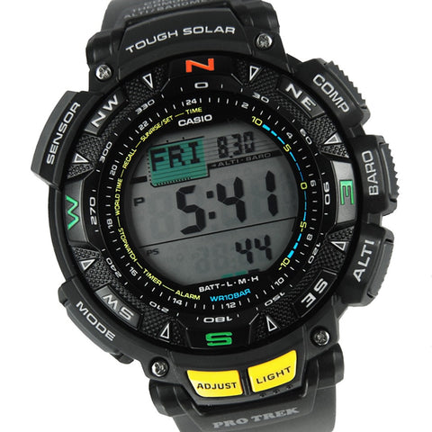 Casio Protrek Triple Sensor PRG-240-1 Watch (New with Tags)